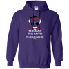 Stan Lee The Man The Myth The Legend Hoodie - Purple - Shipping Worldwide - NINONINE