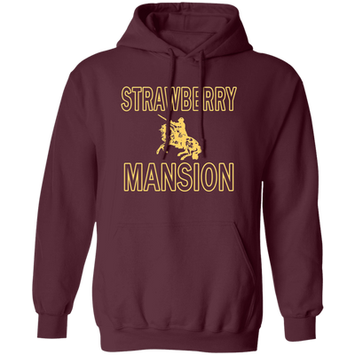 Strawberry Mansion Hoodie - Maroon - Worldwide Shipping - NINONINE