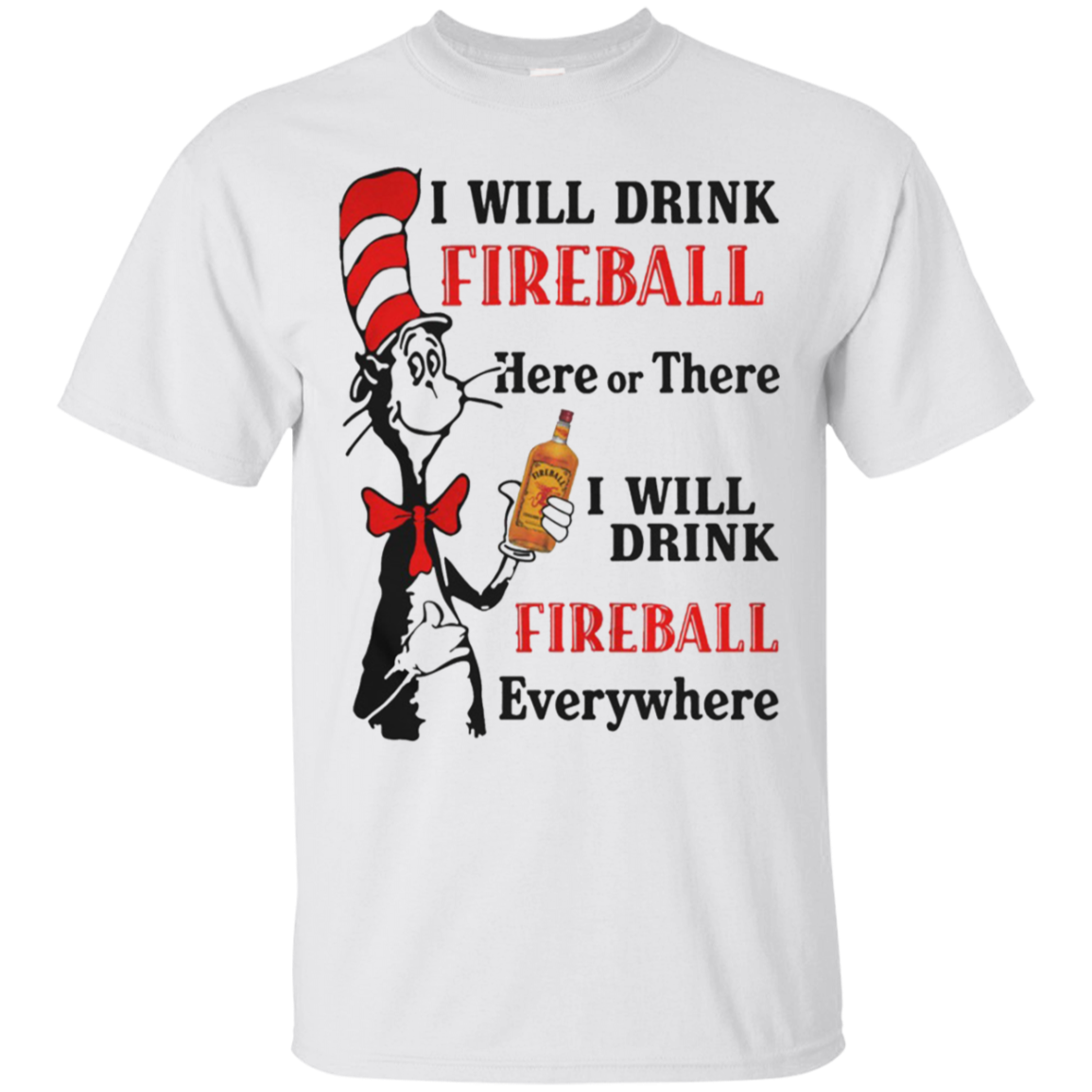 Dr Seuss Fireball Shirt