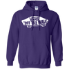 Vans Off The Wall Hoodie Dark - Purple - Shipping Worldwide - NINONINE