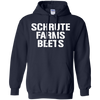Schrute Farms Hoodie Dark - Navy - Shipping Worldwide - NINONINE