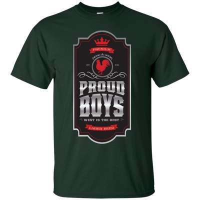 Proud Boys Shirt West Is The Best V2 - Forest - Shipping Worldwide - NINONINE