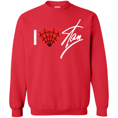 I Love Stan Lee Sweater - Red - Shipping Worldwide - NINONINE