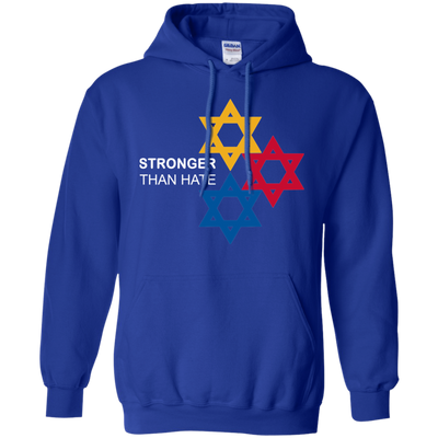 Pittsburgh Stronger Than Hate Hoodie - Royal - Shipping Worldwide - NINONINE