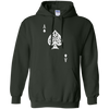 Ace Of Spades Hoodie Dark - Forest Green - Shipping Worldwide - NINONINE