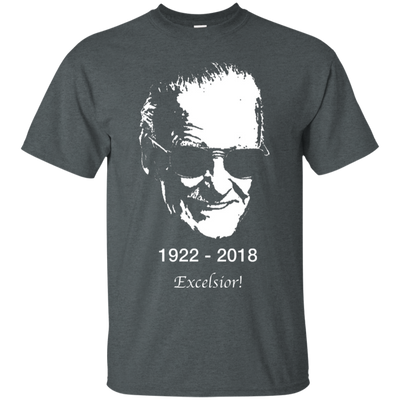 Stan Lee Shirt - Dark Heather - Shipping Worldwide - NINONINE