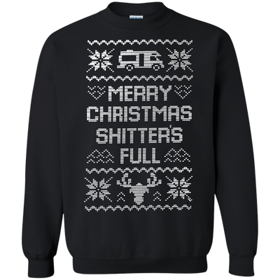 Shitters Full Sweater - Black - Shipping Worldwide - NINONINE