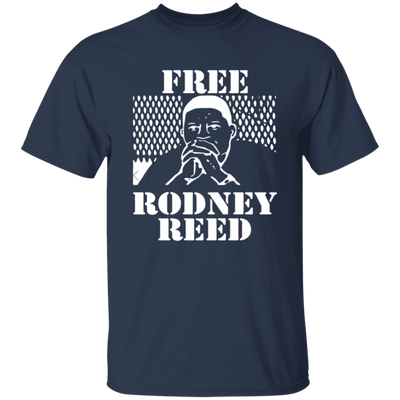 Free Rodney Reed T Shirt - Navy - Worldwide Shipping - NINONINE