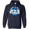 United States Space Force Pew Pew Hoodie - Navy - Shipping Worldwide - NINONINE