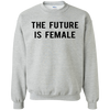 The Future Is Female Sweater - Sport Grey - Shipping Worldwide - NINONINE