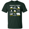 Animals Of The World Shirt - Forest - Shipping Worldwide - NINONINE
