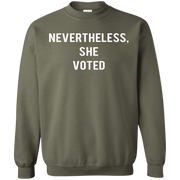 Nevertheless She Voted Sweater