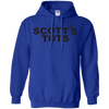 Scotts Tots Hoodie - Royal - Shipping Worldwide - NINONINE