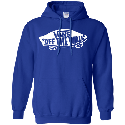 Vans Off The Wall Hoodie Dark - Royal - Shipping Worldwide - NINONINE