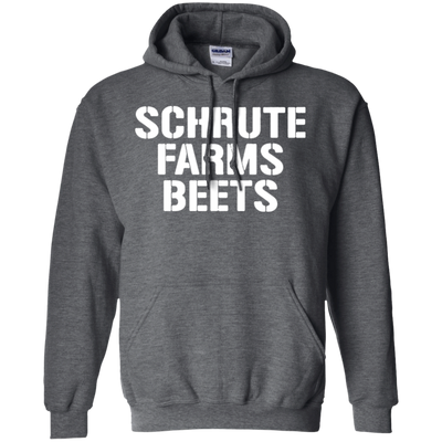 Schrute Farms Hoodie Dark - Dark Heather - Shipping Worldwide - NINONINE
