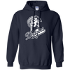 Tupac Dodgers Hoodie - Navy - Shipping Worldwide - NINONINE