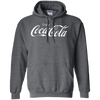 Coca Cola Hoodie - Dark Heather - Shipping Worldwide - NINONINE