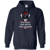 Stan Lee The Man The Myth The Legend Hoodie - Navy - Shipping Worldwide - NINONINE