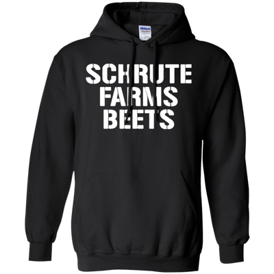 Schrute Farms Hoodie Dark - Black - Shipping Worldwide - NINONINE