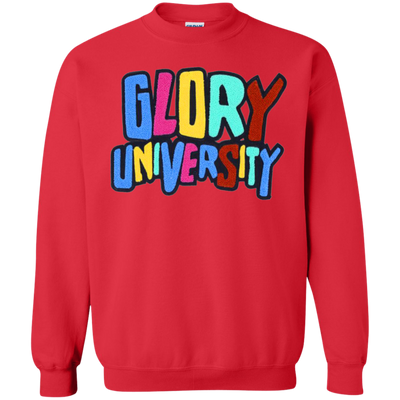 Glory University Sweater - Red - Shipping Worldwide - NINONINE