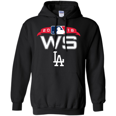 Dodgers World Series Hoodie - Black - Shipping Worldwide - NINONINE