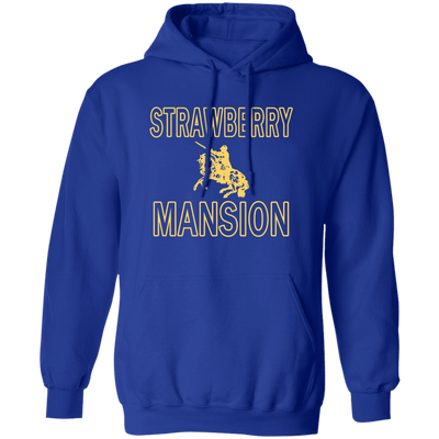 Strawberry Mansion Hoodie - Royal - Worldwide Shipping - NINONINE