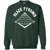 Black Pyramid Sweater - Forest Green - Shipping Worldwide - NINONINE
