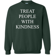 Treat People With Kindness Sweater Dark