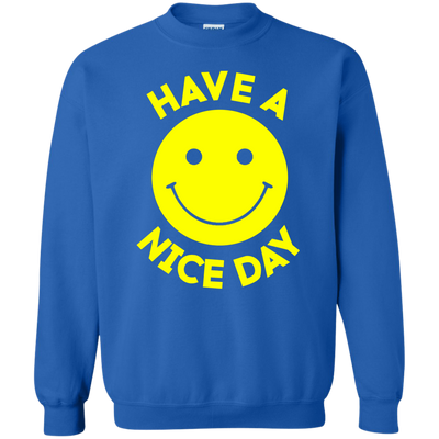 Have A Day Sweater - Royal - Shipping Worldwide - NINONINE