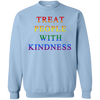 Treat People With Kindness Sweater Pride - Light Blue - Shipping Worldwide - NINONINE