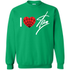 I Love Stan Lee Sweater - Irish Green - Shipping Worldwide - NINONINE