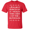 Jolliest Bunch Of Christmas Vacation Shirt - Red - Shipping Worldwide - NINONINE