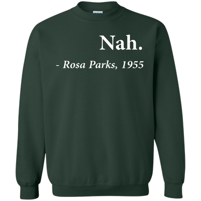 Nah Rosa Parks Sweater - Forest Green - Shipping Worldwide - NINONINE