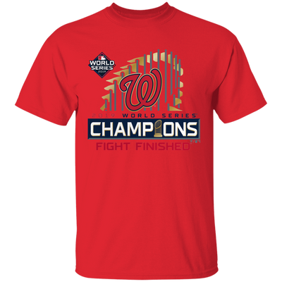 Nationals World Series Shirt - Red - Worldwide Shipping - NINONINE