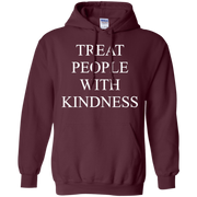 Treat People With Kindness Hoodie Dark