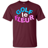 Golf Le Fleur Shirt - Maroon - Shipping Worldwide - NINONINE