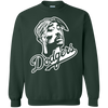 Tupac Dodgers Sweater - Forest Green - Shipping Worldwide - NINONINE
