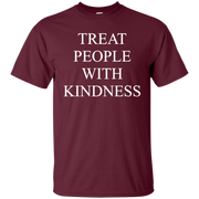 Treat People With Kindness Shirt Dark