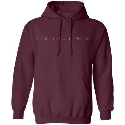 Harry Style Treat People With Kindness Hoodie - Maroon - Shipping Worldwide - NINONINE