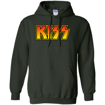 Kiss Hoodie - Forest Green - Shipping Worldwide - NINONINE