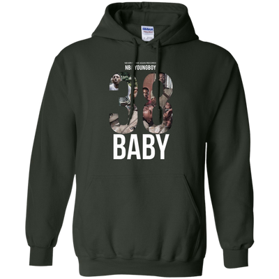 38 Baby Hoodie NBA Youngboy - Forest Green - Shipping Worldwide - NINONINE