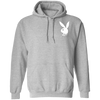 Playboy Bunny Hoodie - Sport Grey - Worldwide Shipping - NINONINE