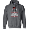 Stan Lee The Man The Myth The Legend Hoodie - Dark Heather - Shipping Worldwide - NINONINE