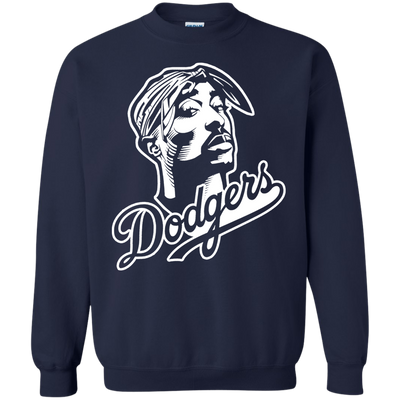 Tupac Dodgers Sweater - Navy - Shipping Worldwide - NINONINE