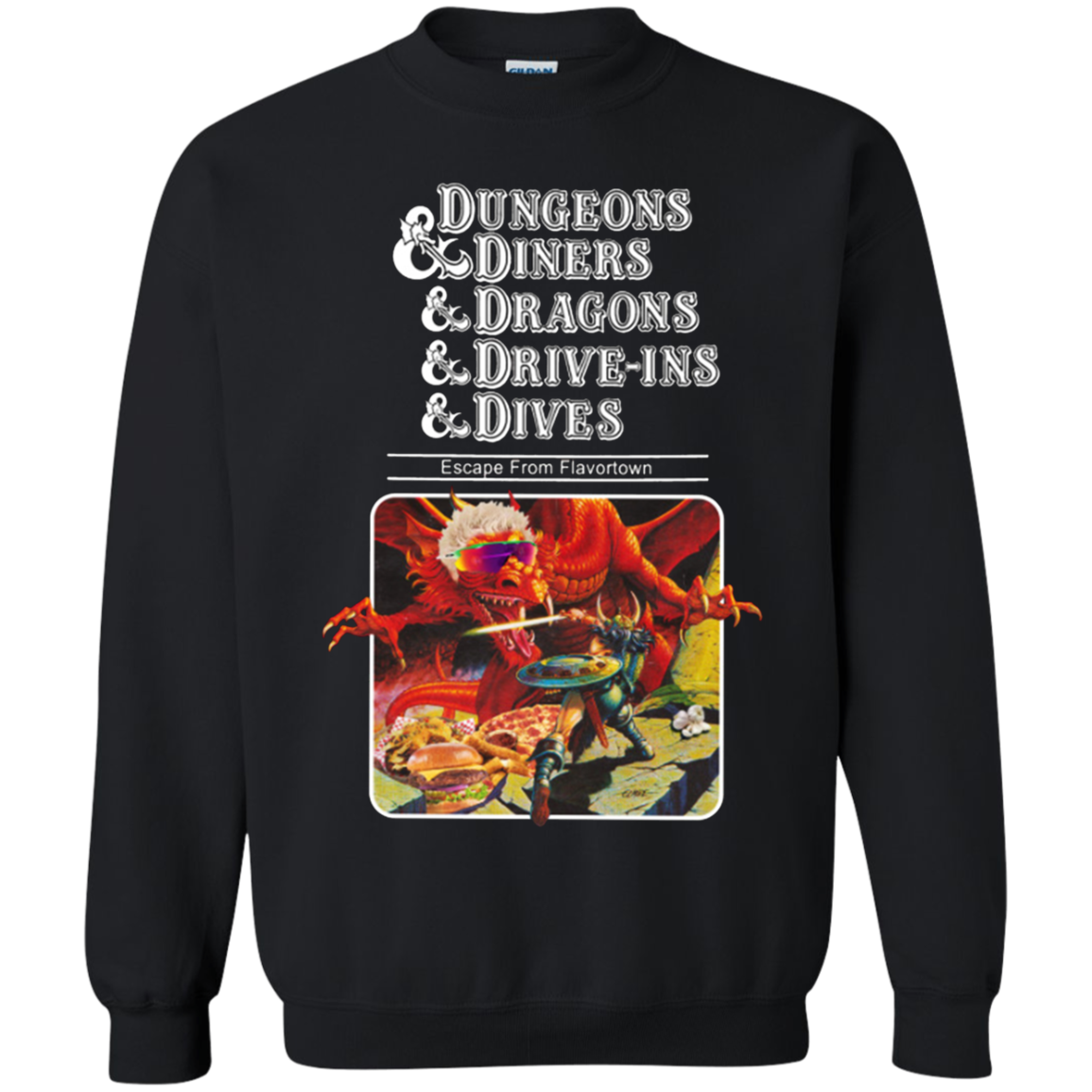 Dungeons And Diners Sweatshirt