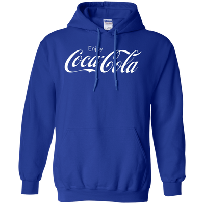 Coca Cola Hoodie - Royal - Shipping Worldwide - NINONINE