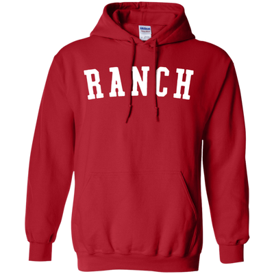 Hidden Valley Ranch Hoodie - Red - Shipping Worldwide - NINONINE