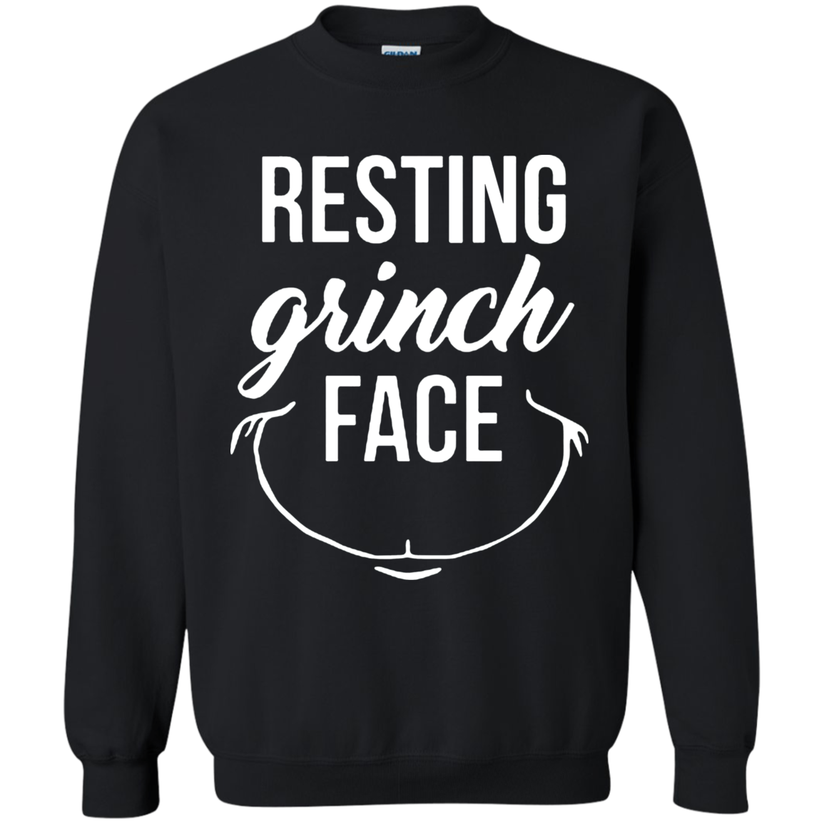 Resting Grinch Face Sweatshirt