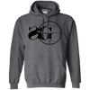 Sniper Gang Hoodie Light - Dark Heather - Shipping Worldwide - NINONINE