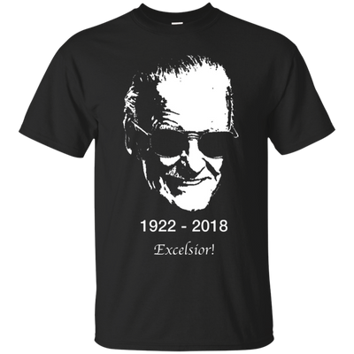 Stan Lee Shirt - Black - Shipping Worldwide - NINONINE